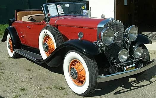 1931 Cadillac Roadster