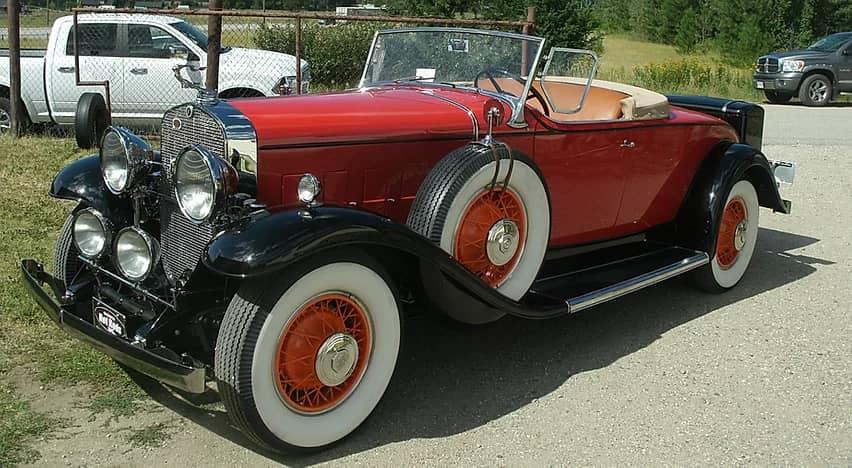 1931 Cadillac Convertible